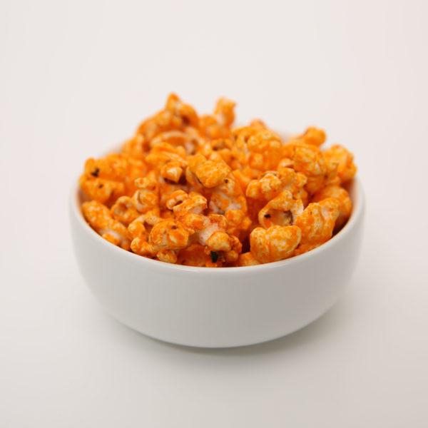 Chili Cheese Gunpowder Popcorn